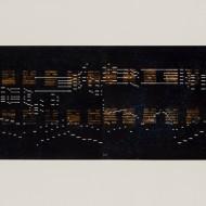 08 Binary:IChing (2), 53 x 127 cm