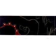 09 SCRIBBLES 5, 53 x 56 cm