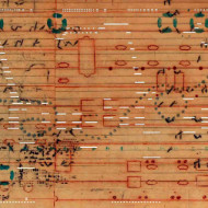 15 Notation 1, 28 x 89 cm
