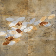 Artifact/blades (4), 73 x 58 cm