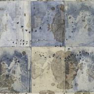 Possiblities in Purgatory Il (Ghosts) 62 x 68 cm