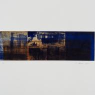 Unknown Authorship (1) 2017 50 x 65 cm Monoprint using photo-etched plates copy