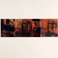Unknown Authorship (2) 2017 50 x 65 cm Monoprint using photo-etched plates