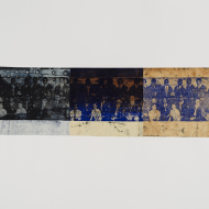 Unknown Authorship (5) 2015 50 x 65 cm Monoprint using photo-ecthed plates